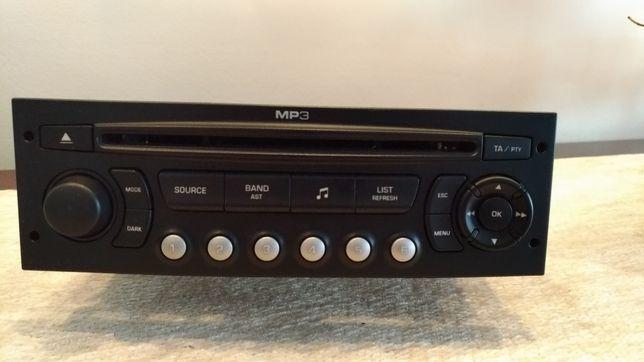 Vendo Radio Auto Blaupunkt Peugeot (ler discrição)