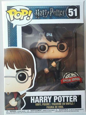 """""""Harry Potter"""" Harry z miotłą figurka Funko POP! USA Special Edition"""