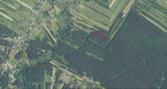 Działka Rolna - 1,1 ha / STASZÓW / DOBRA / rolna z lasem / las