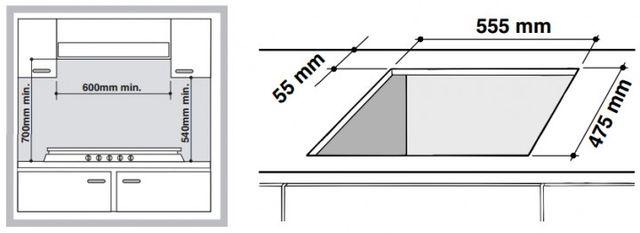 Газовая встраиваемая поверхность ARISTON PH 640 M