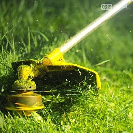 Покос травы Харьков