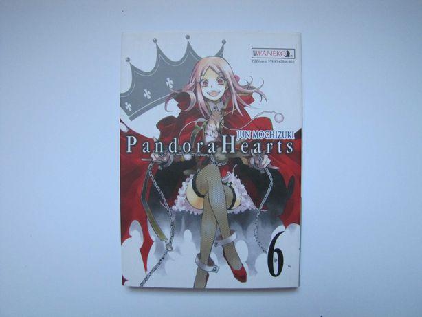 Pandora Hearts tom 6 / manga / Jun Mochizuki