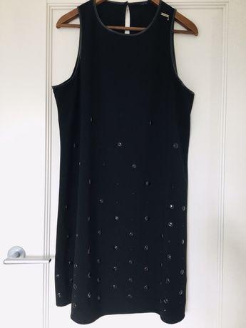 Czarna sukienka Guess r XL