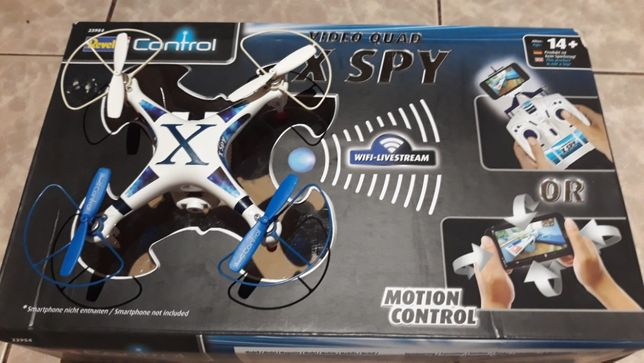 Dron REVELL X SPY Controll RC Wi Fi Camera VIDEO