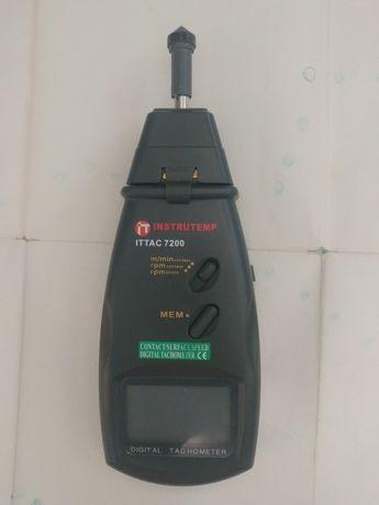 Электронный контактный  тахометр