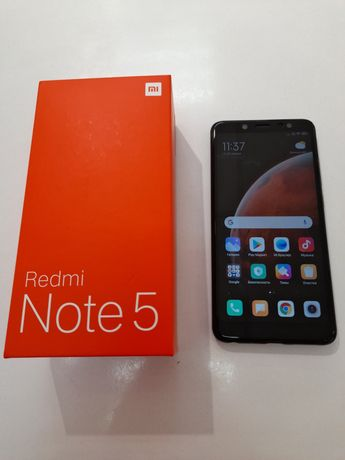 Xiaomi Redmi Note 5 3/32 Black, Global version