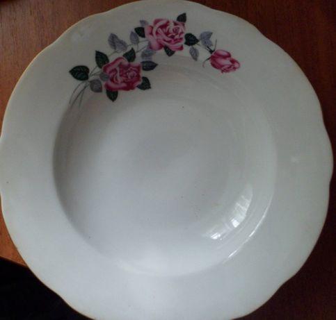 набор тарелок Чехословакия, чаша из кокоса, ступка с пестиком и др