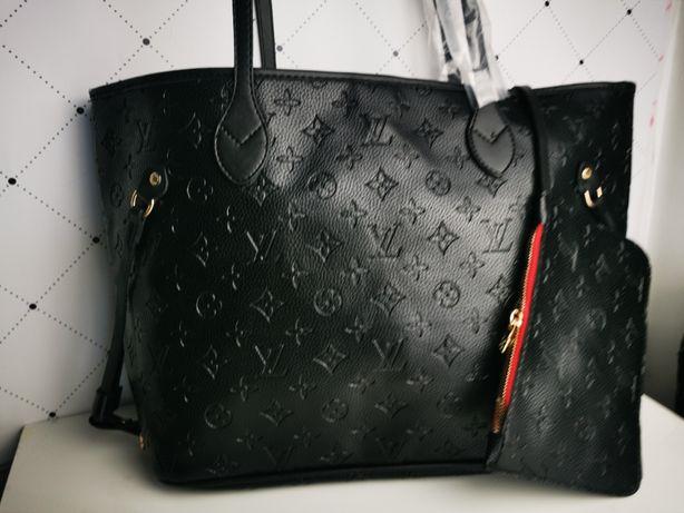 Torebka Louis Vuitton Torba wytłaczana czarna Premium