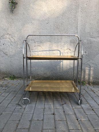 Stolik barek składany lata 60 prl ddr bauhaus loft