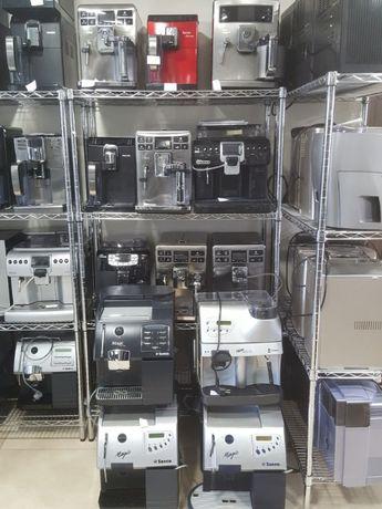 Автоматические кофемашины ТМ Seco, Delonghi и т.д.