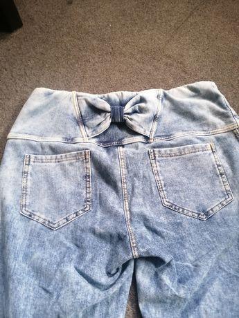 Spodnie gumki obcisle przykegajace do ciala