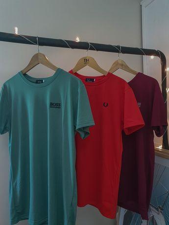 T-shirts, Fred Perry e Hugo Boss