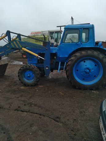 Трактор МТЗ 80 с куном