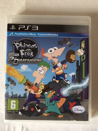 PS3 Phineas & Ferb
