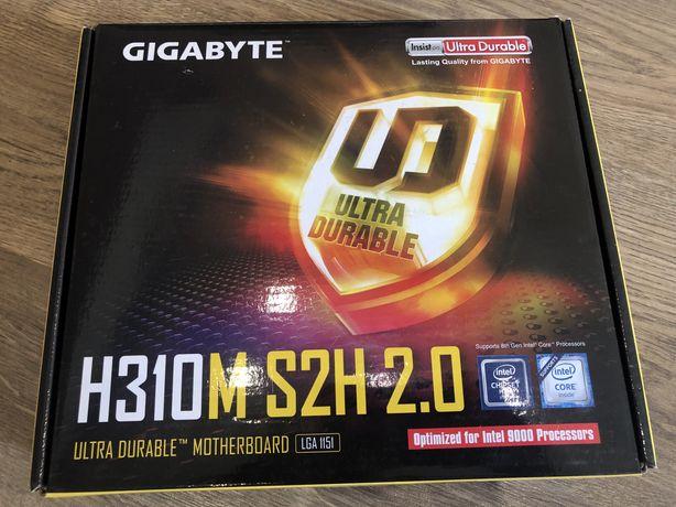Материнская плата Gigabyte H310M S2H 2.0 (s1151-V2, Intel H310)