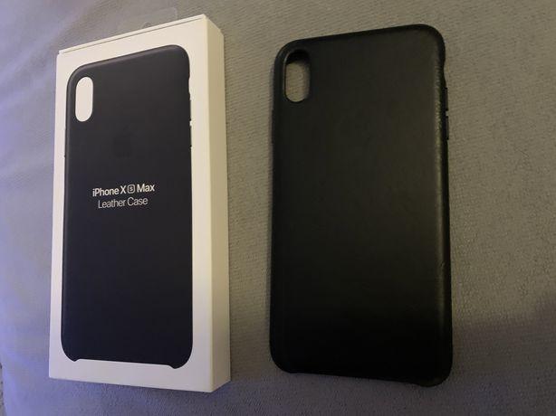 Чехол Iphone XS MAX Leather Case (Оригинал, брал за 1690 грн STYLUS)