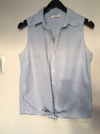 koszula wiązana w paski M