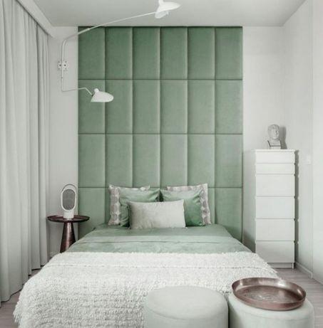 Panel tapicerowany zagłówek ścienny panele dekoracyjne