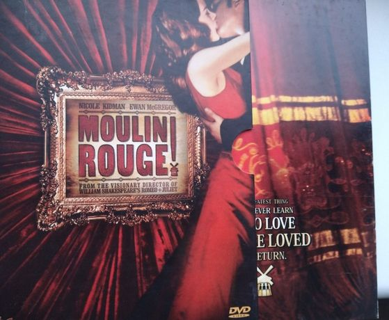 Moulin Rouge - wydanie dwupłytowe dvd