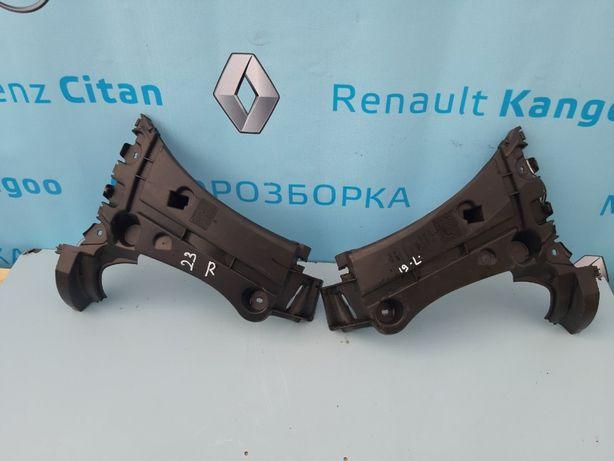 Краб Крепление кріплення зад. бампера Renault Kangoo 2 Рено Кенго