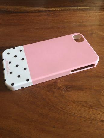 Capa iphone 4 e 4s da marca rosa com canela