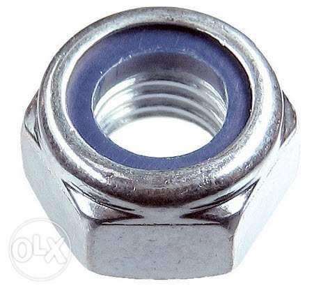 Контргайка стопорная М8 с нейлоновым кольцом