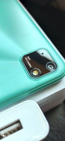 Telefon smartfon huawei Y5p nowy 2 sloty na SIM i 1 na pamięć zestaw