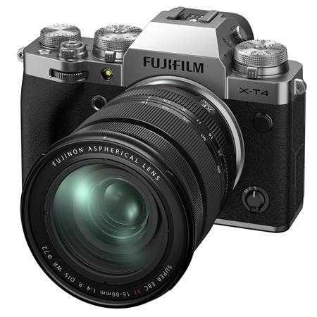 Fuji X-T4 novo + XF 16x80 WR + Grip VG + correia larga. Fatura/nif, ga