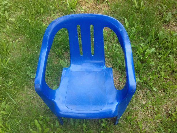 Krzesełko dziecience plastikowe