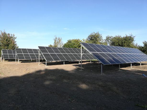 Солнечная электростанция, 1-50 квт