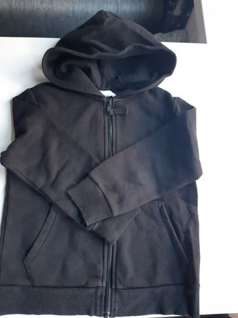 Czarna bluza H&M 110/116