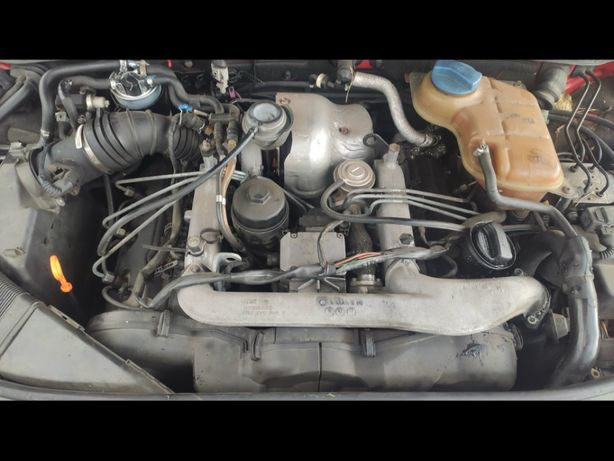 Двигатель Audi A6 C5 2.5 TDi AFB 110 kw Турбина Форсунки ТНВД А4 Б5