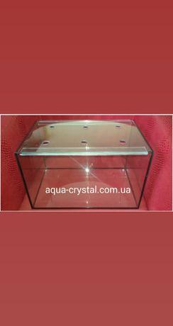 Новый террариум, аквариум 40-25-25 с крышкой. Доставка по Украине