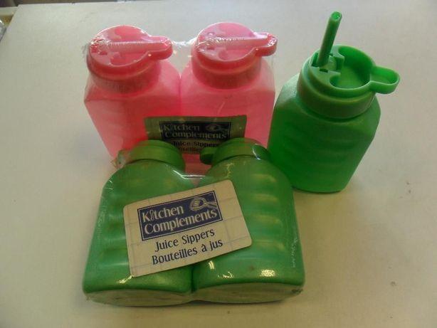 butelki - bidon z dozownikiem 200ml plastik
