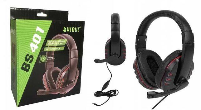 Headset słuchawki z mikrofonem dla Graczy PC PS4