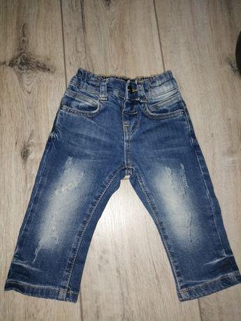 Spodnie jeans Armani 74