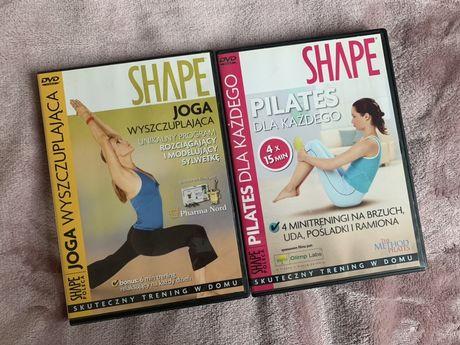 Shape DVD joga wyszczuplająca pilates dla każdego