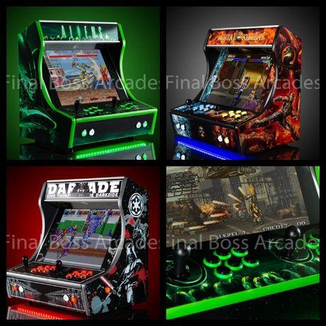 Máquinas de jogos Arcade Bartop