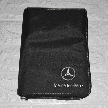 Оригинальный тряпичный матерчатый чехол папка Mercedes для документов