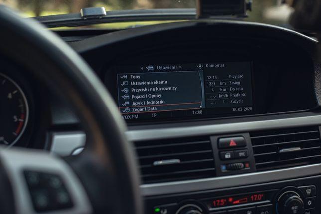Język polski BMW Professional ccc PL menu E60 E90 X5 X6