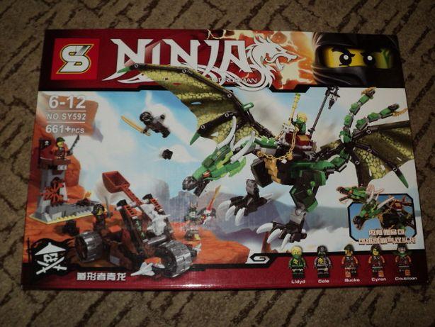 Лего конструктор дракон.