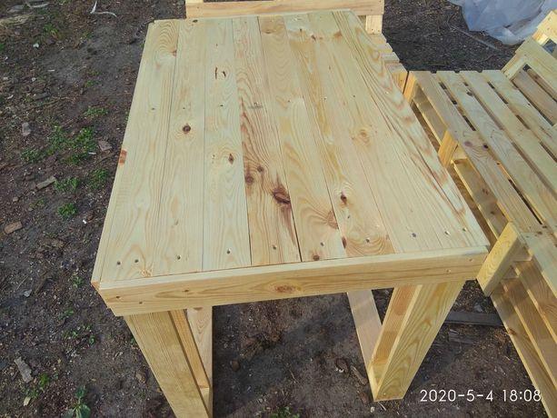 Мебель садовая в стиле поддонов,  мебель из поддонов