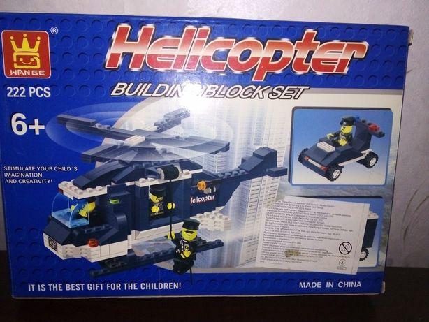 Вертолёт лего полиция