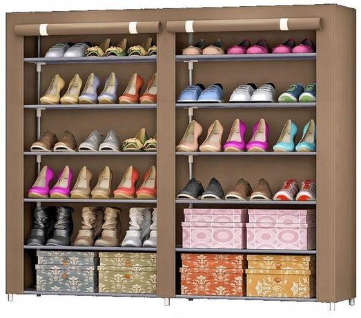 Szafka na buty 12x półka organizer garderoba coffee