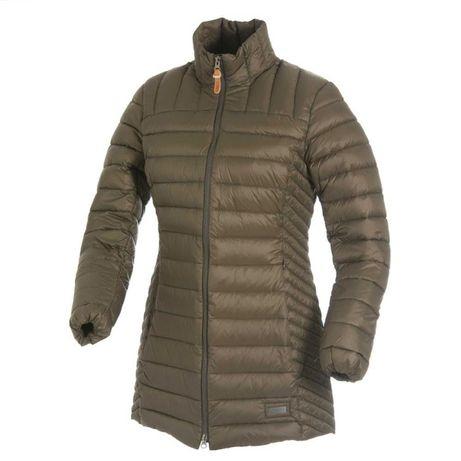 Серый легкий пуховик пальто CMP р. L