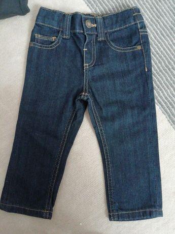 Spodnie jeansy 80