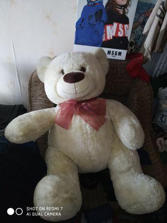 Плюшевый медведь, мягкая игрушка, белый медведь, мишка Тедди