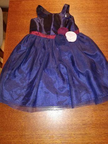 Piękna sukienka wizytowa z h&m na 3 lata