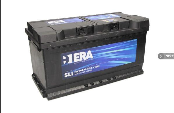 NOWY Akumulator 100AH 830A P+ 353X175X190 ERA
