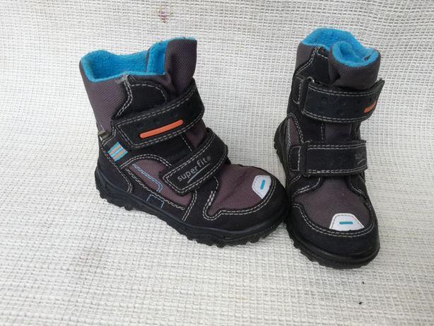 Buty zimowe Superfit Gore-Tex r.24 dł wkł 15,5cm